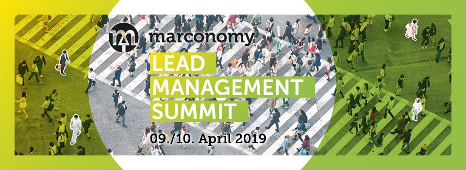 Lead Management Summit 2019:  Aus der Praxis für die Praxis