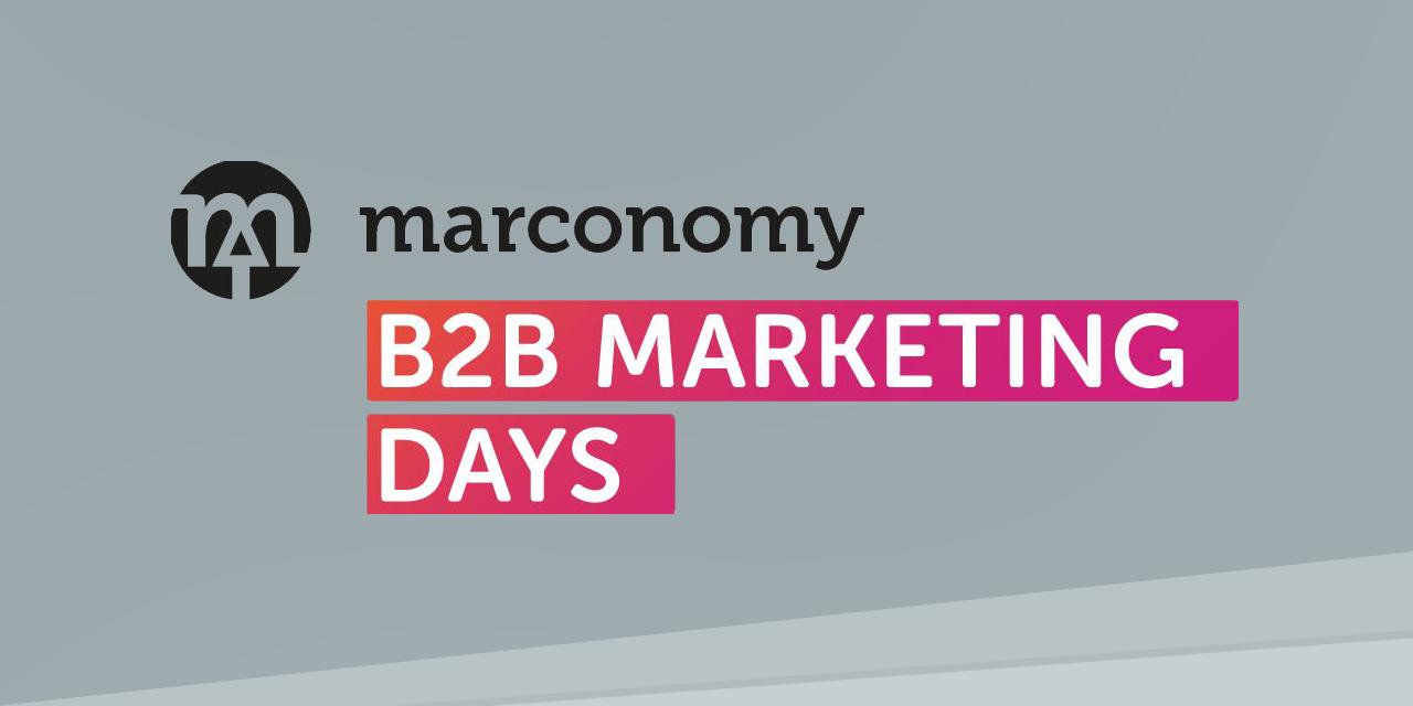 Die marconomy B2B Marketing Days 2020 in Würzburg