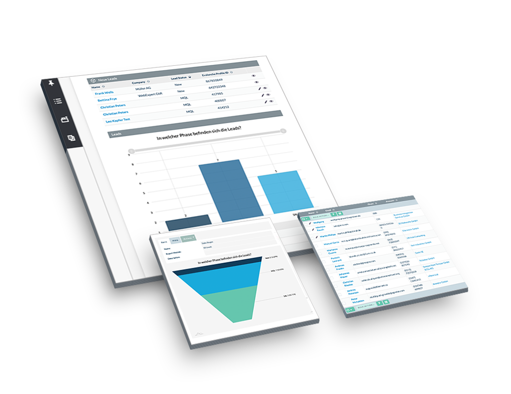 Evalanche Marketing und Sales Automation Plattform: Sales