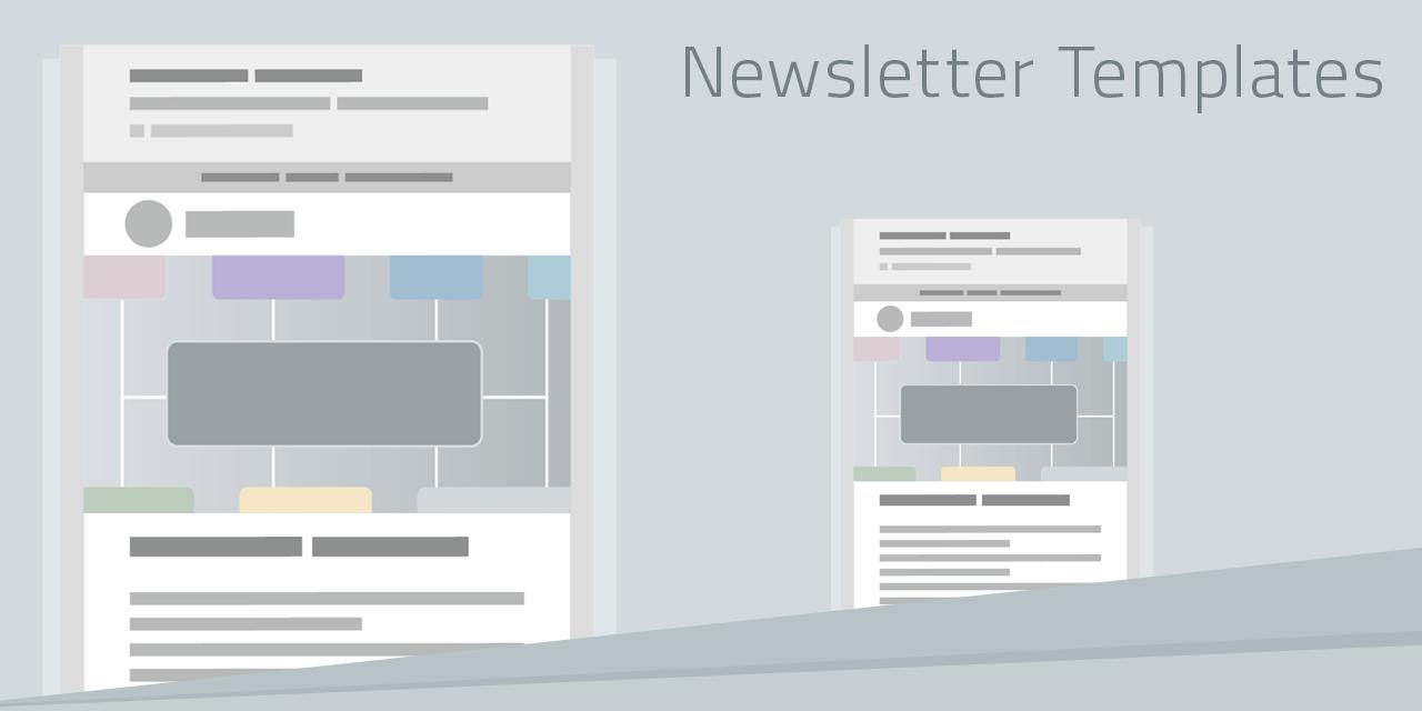 Newsletter Templates für das perfekte Mailing