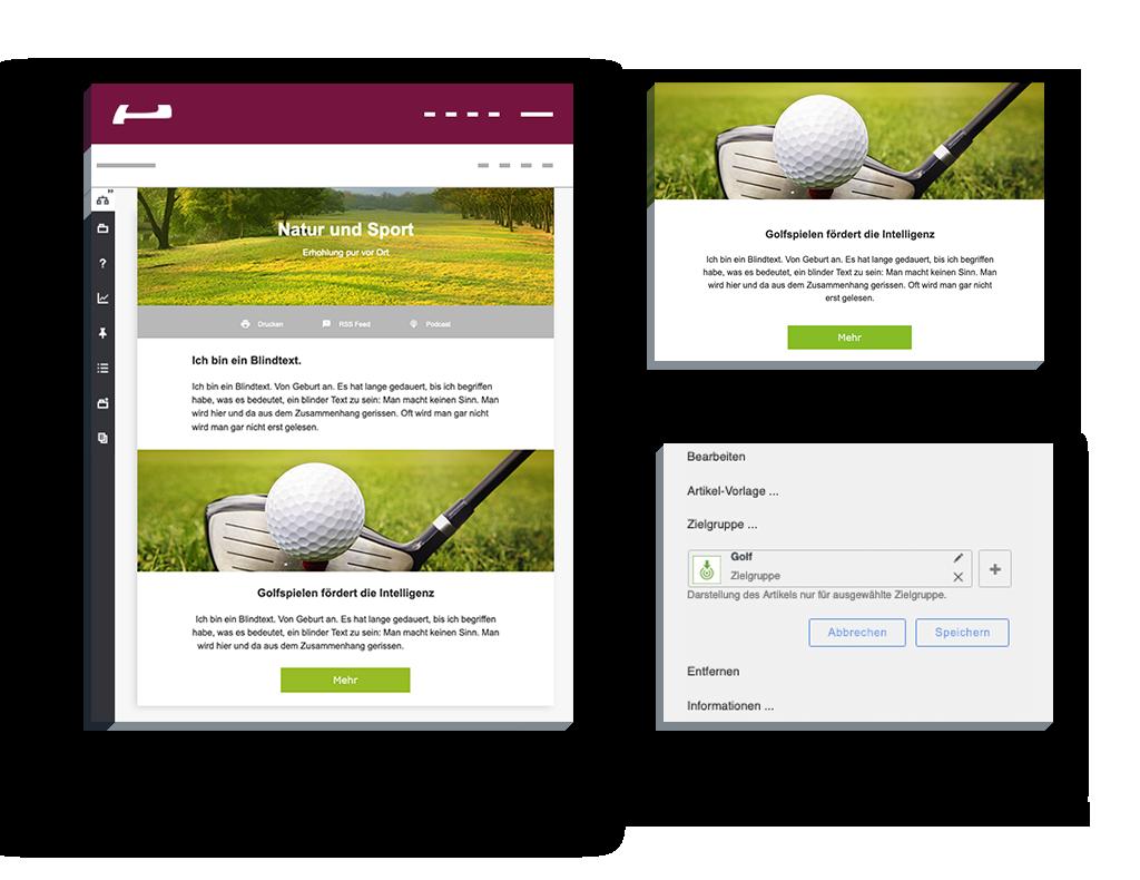 Personalisierung Website