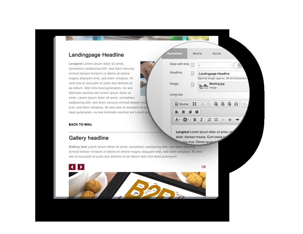 PowerSet Feature: Landingpage