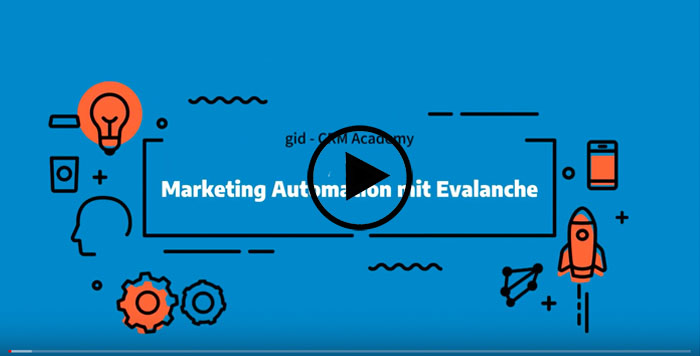 CRM CAS genesisWorld & SC Networks Evalanche - Marketing Automation Teil 2