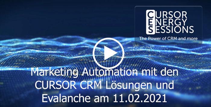 Webinar CURSOR CRM